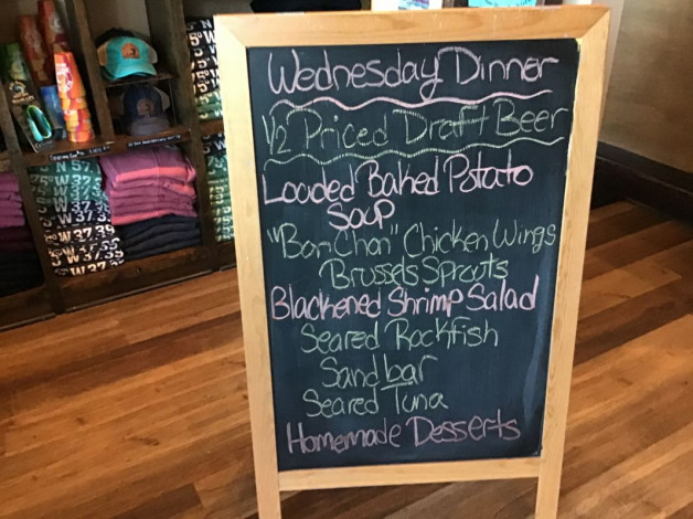 Wednesday Dinner Specials January 13,2021