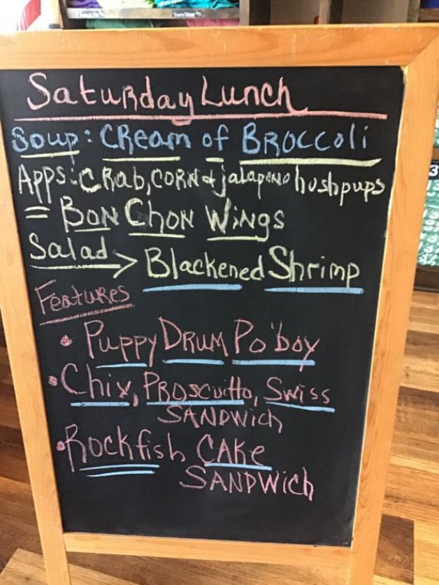 Saturday Lunch Specials January 16th, 2021