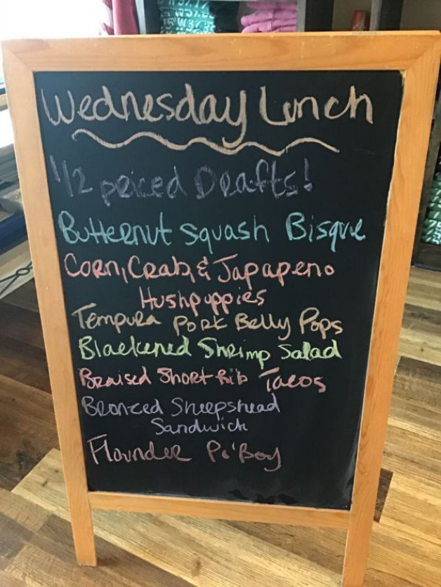 Wednesday Lunch Specials January 27th, 2021