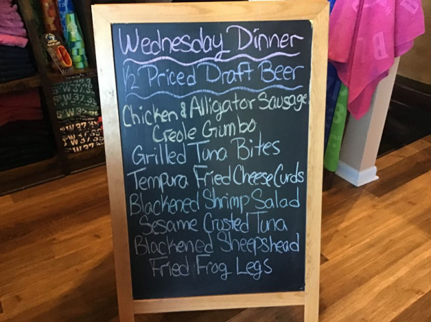 Wednesday Dinner Specials February 24th,2021