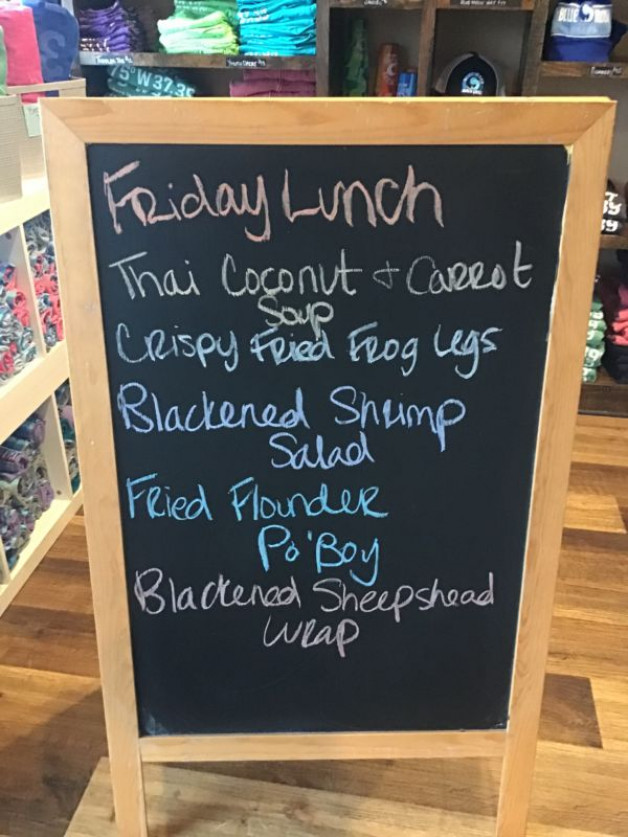 Friday Lunch Specials February 26th, 2021