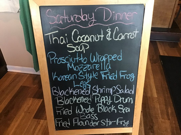 Saturday Dinner Specials February 27th,2021