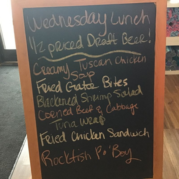 Tuesday Lunch Specials March 17th, 2021