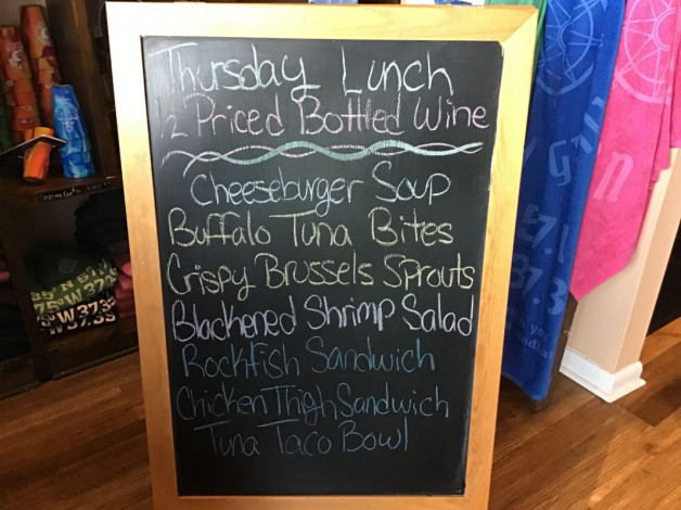 Thursday Lunch Specials March 25th,2021