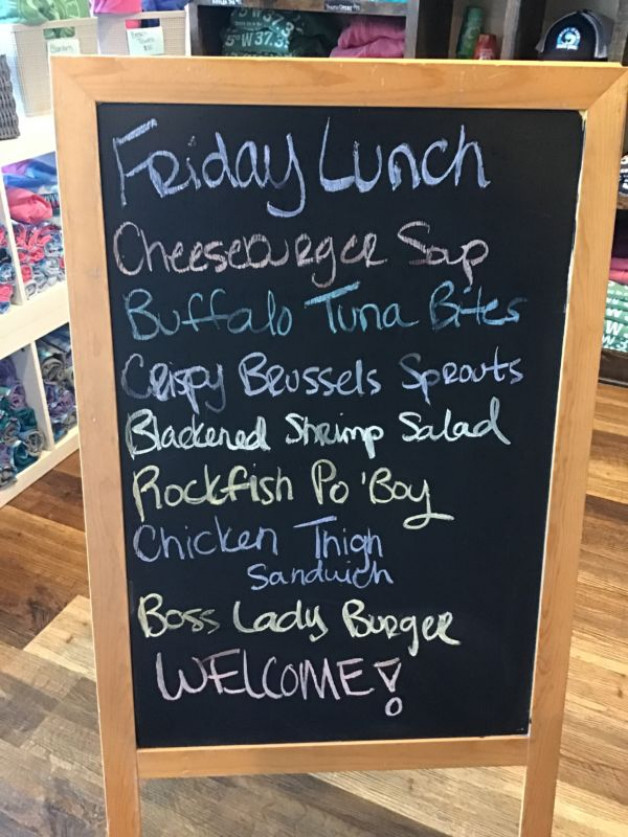 Friday Lunch Specials March 26th, 2021