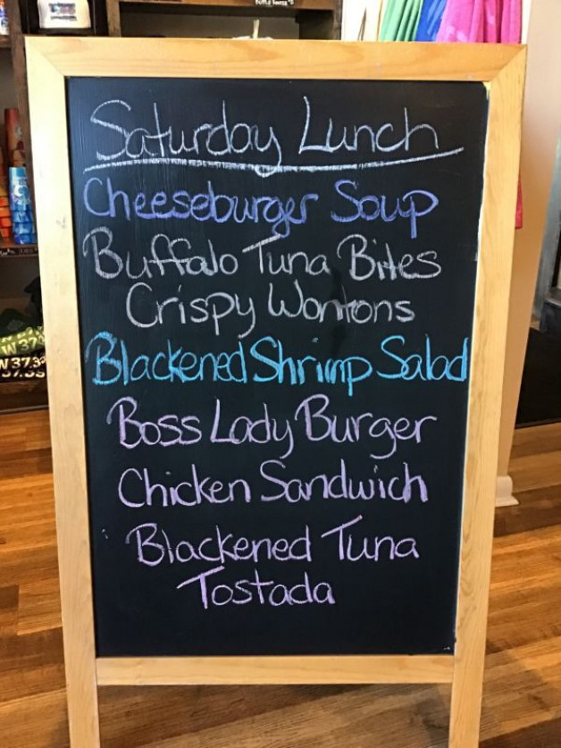 Saturday Lunch Specials, March 27th