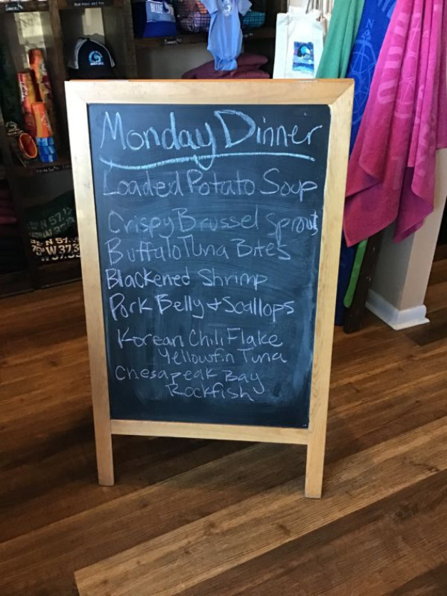 Monday Dinner Specials March 29th,2021