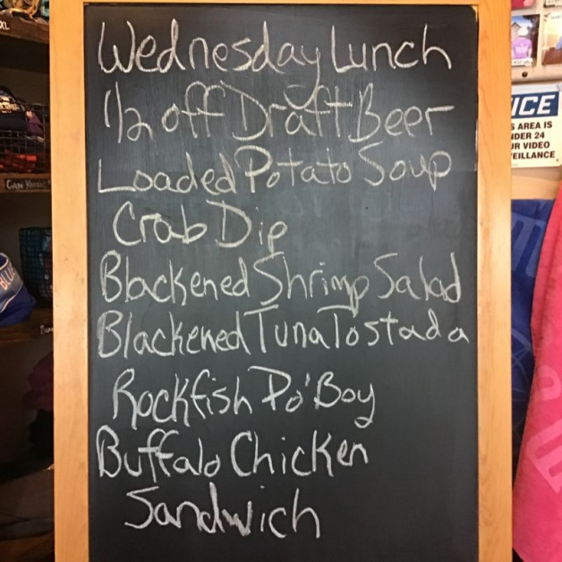 Wednesday Lunch Specials March 31st 2021