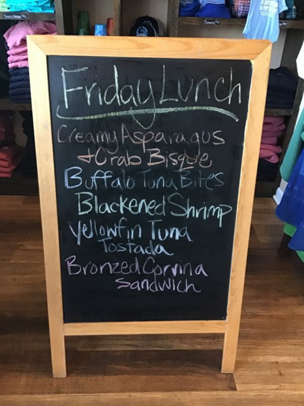 Friday Lunch Specials April 9th,2021