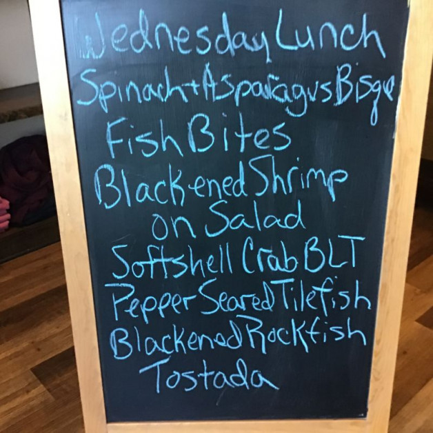 Wednesday Lunch Specials April 28th, 2021