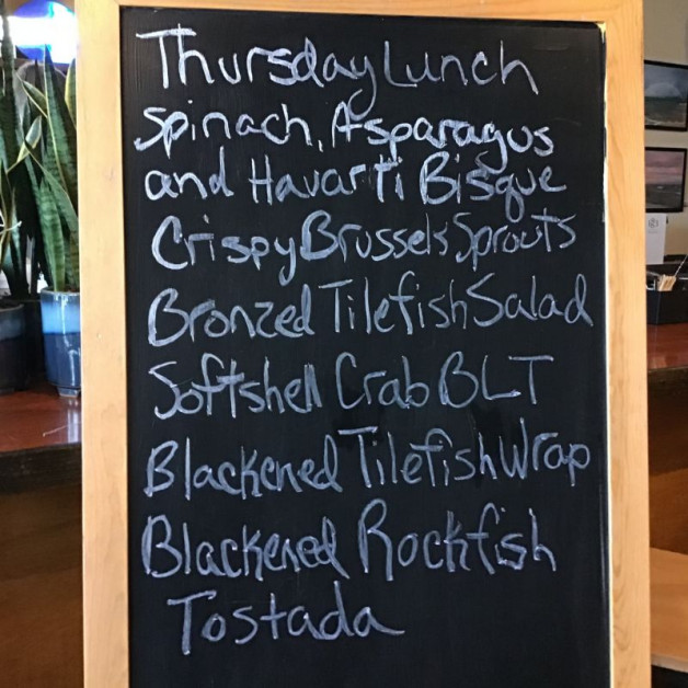 Thursday Lunch Specials April 29th, 2021
