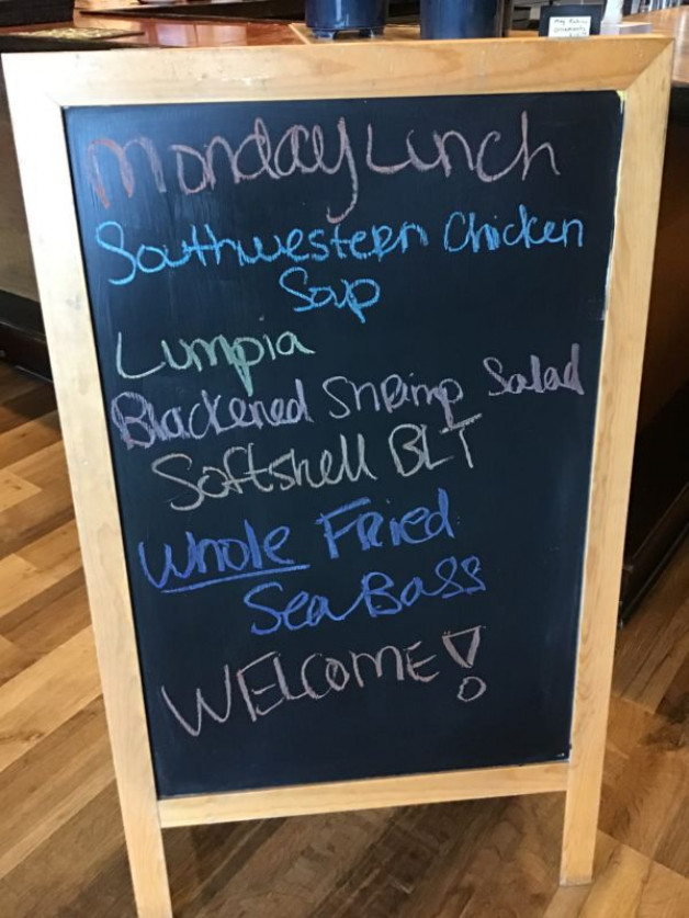 Monday Lunch Specials May 10th, 2021