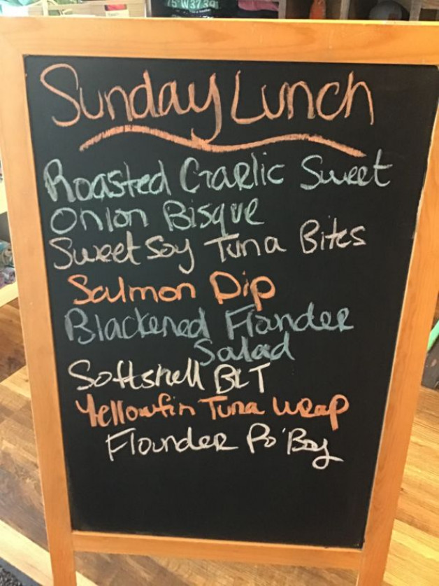 Sunday Lunch Specials May 16th, 2021