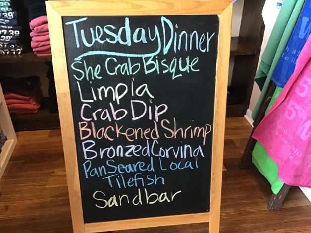 Tuesday Dinner Specials May 18th,2021