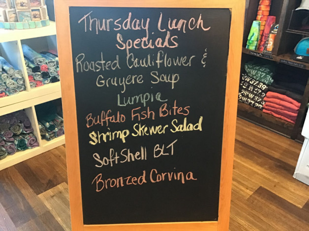 Lunch Specials Thursday May 20, 2021