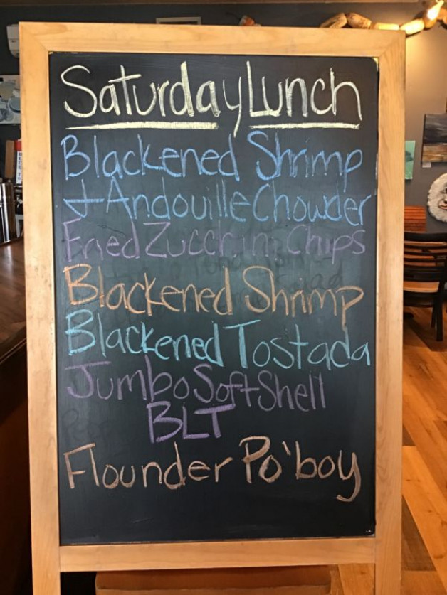 Lunch Specials Saturday June 26th, 2021