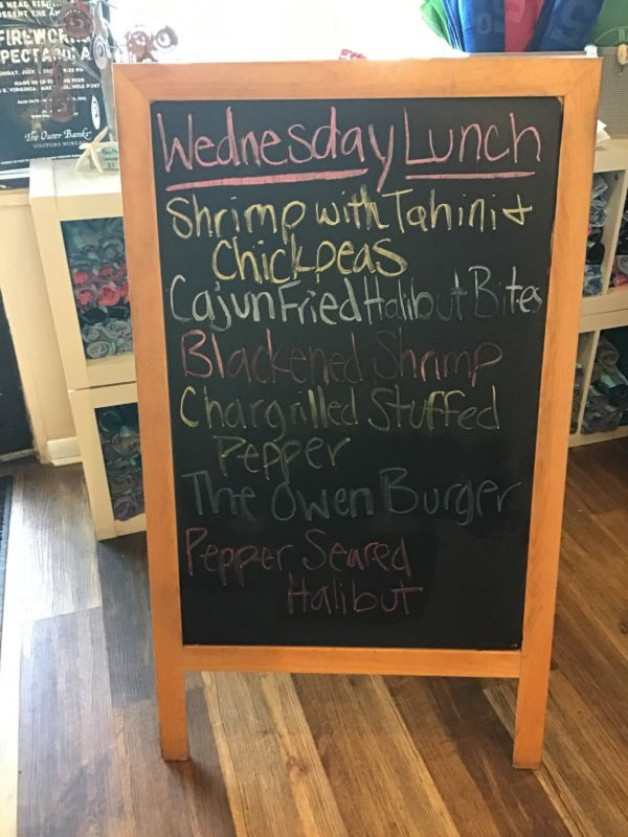 Wednesday lunch Specials June 30th, 2021