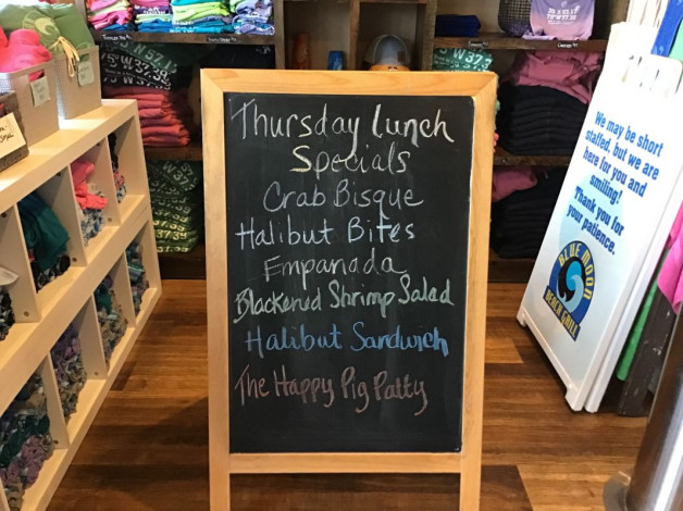 Thursday Lunch Specials July 22nd, 2021