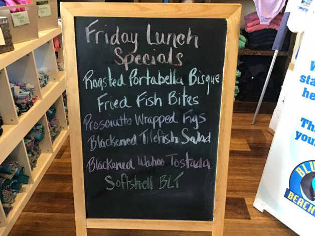 Friday Lunch Specials August 6th, 2021