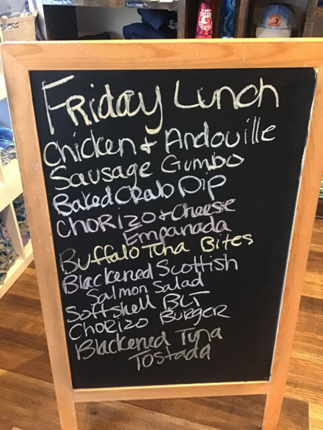 Friday Lunch Specials August 27th, 2021