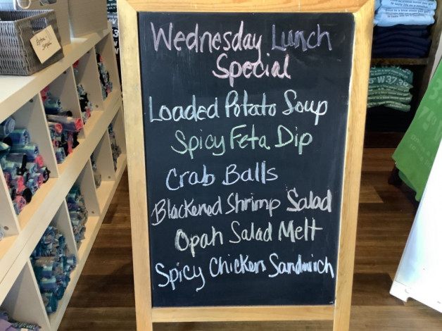 Lunch Specials Wednesday September 15th, 2021