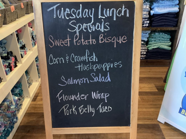 Tuesday Lunch Specials September 21, 2021