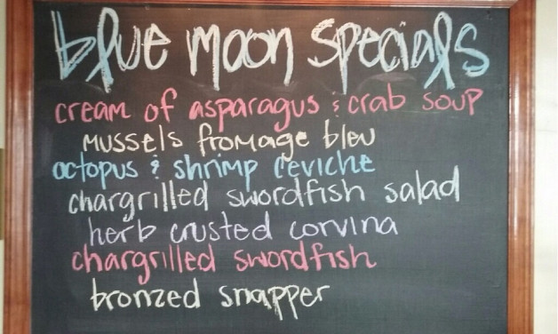 Wednesday July 1, 2015 Dinner Specials