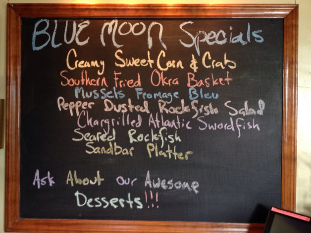Tuesday July 7, 2015 Dinner Specials
