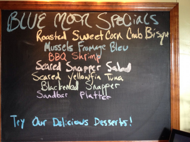 Tuesday July 14, 2015 Dinner Specials