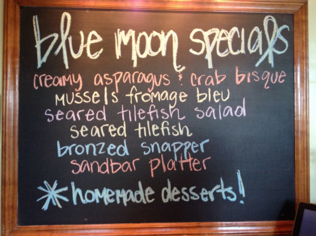 Wednesday July 15, 2015 Dinner Specials