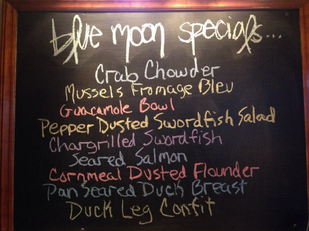 Tuesday July 21, 2015 Dinner Specials