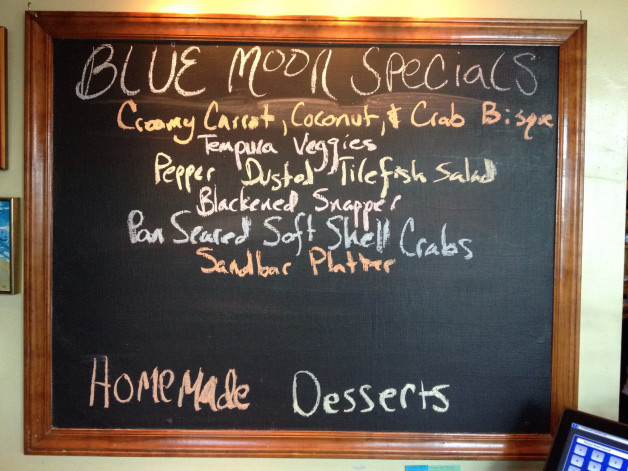 Tuesday August 4, 2015 Dinner Specials