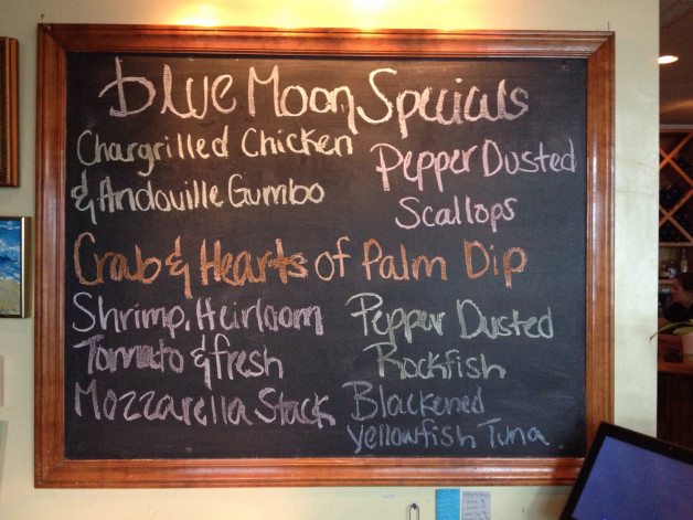 Tuesday August 18, 2015 Dinner Specials