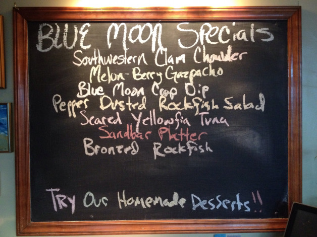 Tuesday August 25, 2015 Dinner Specials