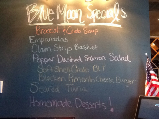 Saturday Lunch Specials- May 28,2016