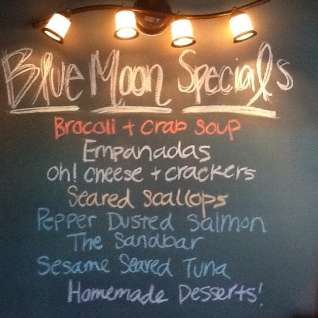 Saturday Dinner Specials – May 28th, 2016