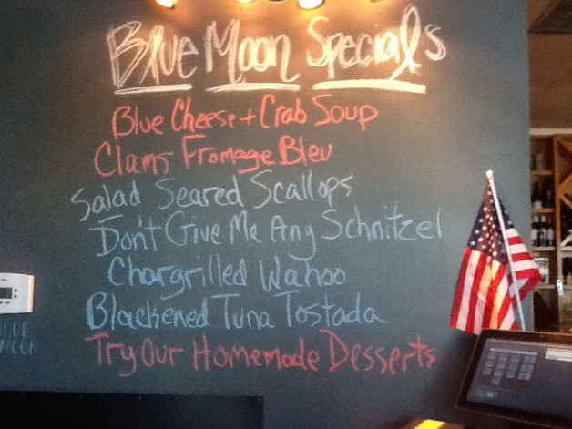 Tuesday Lunch Specials~May 31st, 2016