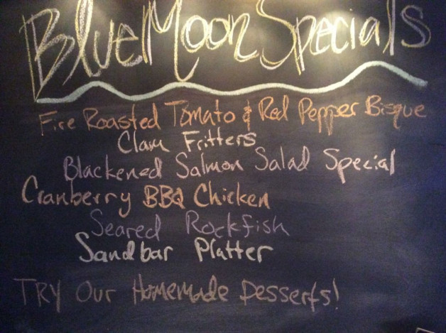 Tuesday Dinner Specials – January 17th 2017