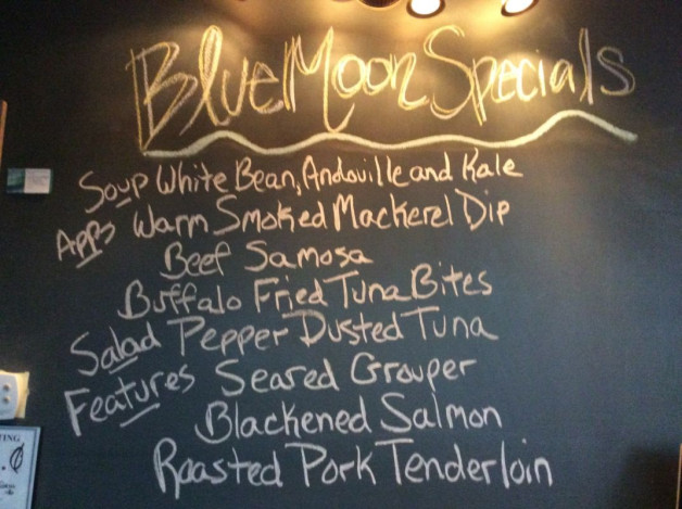Tuesday Dinner Specials, January 31st, 2017