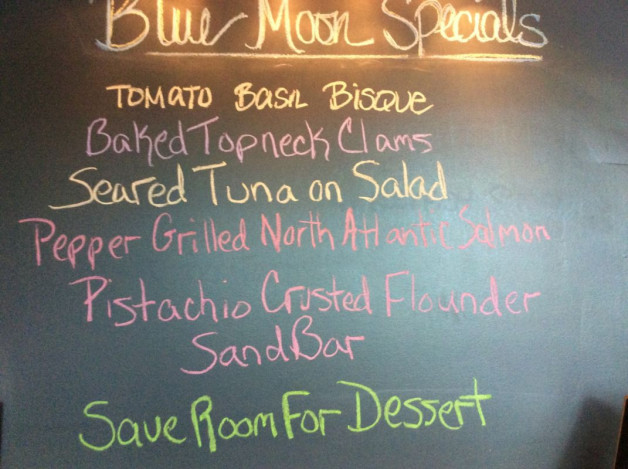 Tuesday Dinner Specials-April 25th, 2017