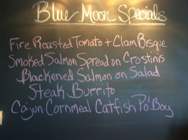 Thursday Lunch Specials-May 25th, 2017