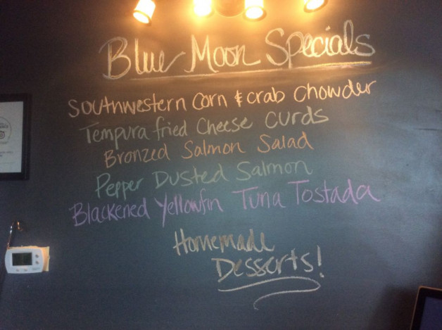 Tuesday Lunch Specials-May 30th, 2017