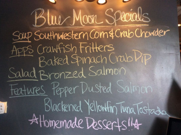 Wednesday Lunch Specials – May 31st 2017