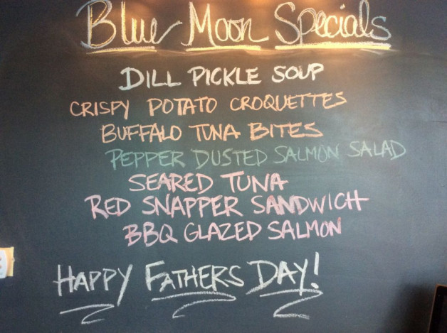Sunday Lunch Specials- June 18th, 2017