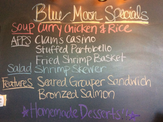 Saturday Lunch Specials- June 24th, 2017