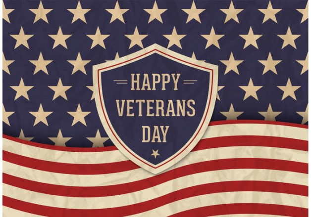 Veterans Day- Saturday, November 11th:  Veterans receive 50% OFF!