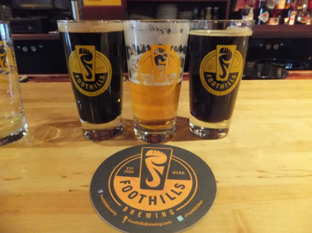 Foothills Brewing Beer Dinner – January 3, 2018. A reservation at Blue Moon!? Yes! Reserve today!