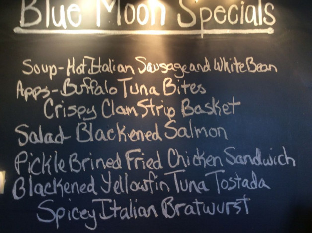 Thursday Lunch Specials March 15th, 2018