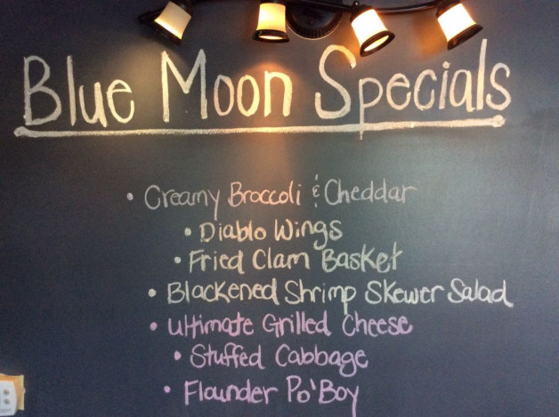 Thursday Lunch Specials –  March 29th, 2018