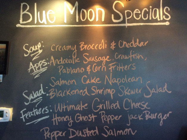 Monday Lunch Specials——April 2nd, 2018